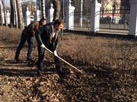 Субботник в Комсомольском парке с Владимиром Груздевым, 11.04.2014, Фото: 5