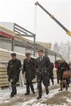 Губернатор посетил строящийся в Богородицке ФОК. 1 апреля 2014, Фото: 6