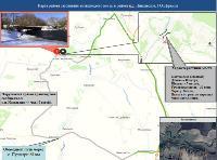 В Тульской области составили схемы объездных путей в случае подтопления мостов , Фото: 9