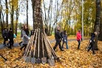 В Центральном парке Тулы появился сосновый бор «Слободы», Фото: 7