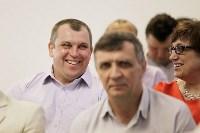 Алексей Дюмин наградил сотрудников «Тулачермета», Фото: 24