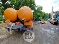Дворы на Красноармейском проспекте затопило нечистотами, Фото: 1