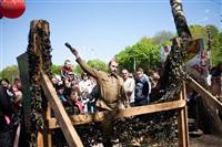 В Центральном парке воссоздали боевой подвиг советских солдат, Фото: 16