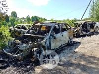 Цыганский конфликт в Туле: ночью подожжены четыре автомобиля, Фото: 9