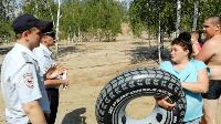 Опашка, бетонные блоки и разъяснения указа губернатора: Полицейские провели рейд в Кондуках, Фото: 4