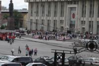 Установка шпиля на колокольню Тульского кремля, Фото: 46