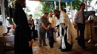 Крещение жителей Новомосковска, Фото: 25
