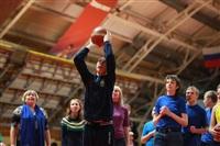 В Туле прошло необычное занятие по баскетболу для детей-аутистов, Фото: 40