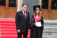 Владимир Груздев поздравил выпускников магистратуры ТулГУ, Фото: 24