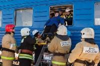 Учения МЧС на железной дороге. 18.02.2015, Фото: 34