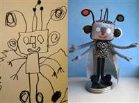 Игрушки, сшитые по рисункам детей, Фото: 5