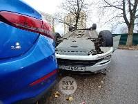 В центре Тулы машина спецсвязи попала в ДТП с «перевертышем», Фото: 9
