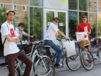 Студенты просят велопарковки, Фото: 2