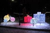 Тульские парки украсили к Новому году, Фото: 4