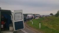 Авария на трассе Тула-Калуга. 04.07.2014, Фото: 5