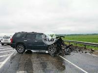 В серьезном ДТП на М-2 в Туле пострадали три человека, Фото: 25