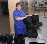Алексей Дюмин пообщался с сотрудниками ЗАО «Донская обувь», Фото: 12