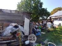 В Туле со двора «Плюшкиной» вывезли несколько грузовиков мусора, Фото: 5