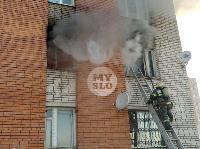 Пожар в общежитии на ул. Фучика, Фото: 17