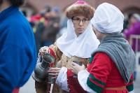Средневековые маневры в Тульском кремле. 24 октября 2015, Фото: 57