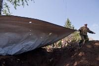 Останки бойцов в деревне Криволучье, Фото: 83