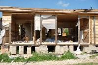 В Плеханово начали сносить дома в цыганском таборе, Фото: 90