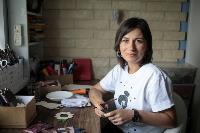 Тульская художница создает уникальные куклы из дерева, Фото: 1