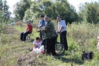 Тульские инвалиды-колясочники выехали на рыбалку, Фото: 9
