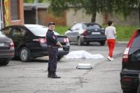 Женщина выпала из окна 11-го этажа на ул. Макаренко в Туле, Фото: 9