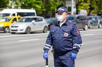 Полицейский рейд в тульских маршрутках: на пассажиров без масок составляют протоколы, Фото: 37