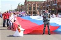 Тульская Федерация профсоюзов провела митинг и первомайское шествие. 1.05.2014, Фото: 41