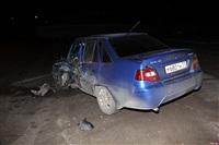 В Щегловской Засеке столкнулись две легковушки, Фото: 9