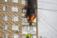 Пожар на проспекте Ленина, Фото: 1