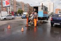 Возле роддома в центре Тулы забил фонтан, Фото: 16