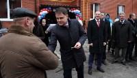 Губернатор Владимир Груздев вручил ключи от квартир новоселам в Узловском районе, Фото: 9