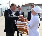 В Плавском районе Алексей Дюмин осмотрел хлебозавод «Авангард», Фото: 9