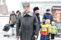 Автофлешмоб на площади Ленина в честь Дня памяти жертв ДТП, Фото: 24
