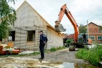 В Плеханово убирают незаконные строения, Фото: 64