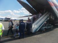 МЧС встречает беженцев в Домодедово. 9.07.2014, Фото: 8