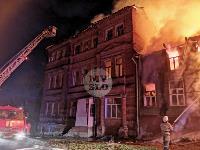 Крупный ночной пожар в Туле, Фото: 3