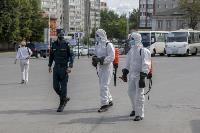 Тульские спасатели продезинфицировали автовокзал «Восточный», Фото: 23