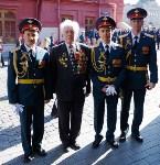 Тульская делегация побывала на генеральной репетиции парада Победы в Москве, Фото: 2