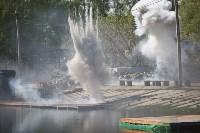 Реконструкция боевых действий. Центральный парк. 9 мая 2015 года, Фото: 45