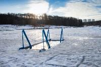 Вырубка купели в Центральном парке. 16.01.2015, Фото: 4