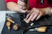 Тульская всечка: как мастерица создает уникальные украшения, Фото: 10