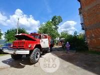 Пожар на ул. Шухова в Туле, Фото: 3
