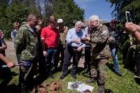 Останки бойцов в деревне Криволучье, Фото: 45