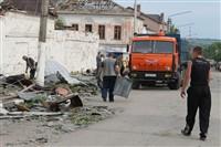 Последствия урагана в Ефремове., Фото: 2