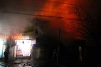 На ул. Оборонной в Туле сгорел магазин., Фото: 4
