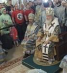 Божественная литургия в храме Сергия Радонежского, Фото: 8